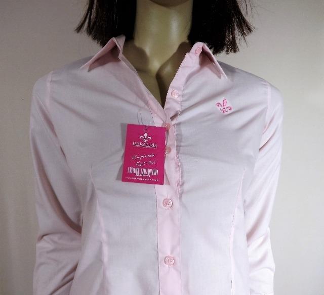 Camisa Social Feminina-cod.uni000525-universizeplus - R  183 6e9c6d8205057