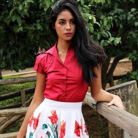 82b8228dcd Camisa Social Feminina Trabalho - Calçados