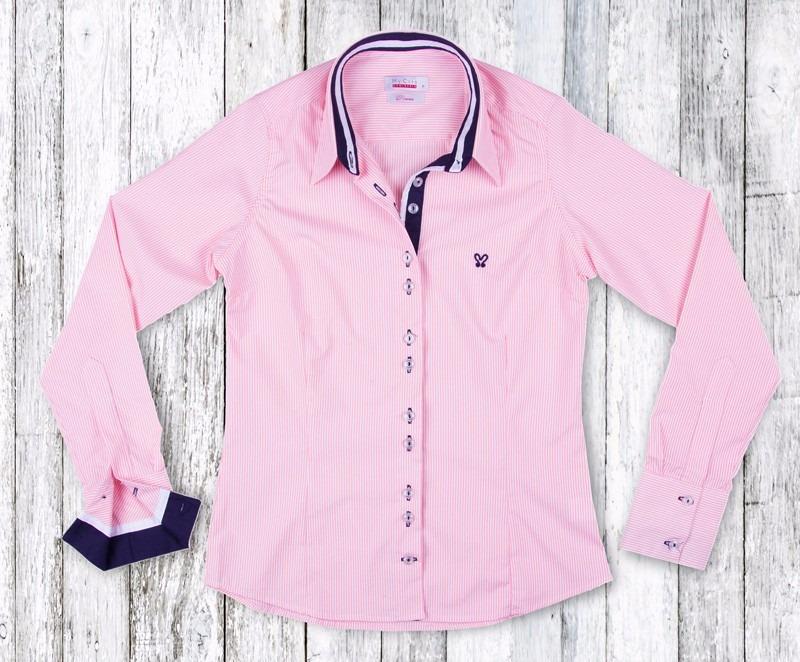 482c4006c camisa social feminina my cris listrada rosa claro slim fit. Carregando  zoom.
