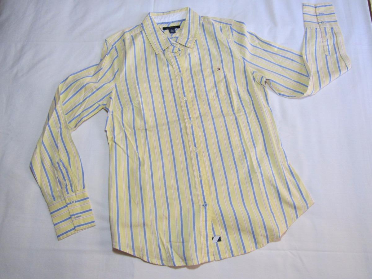 989a437a5 Camisa Social Feminina Tommy Hilfiger P - R$ 179,00 em Mercado Livre
