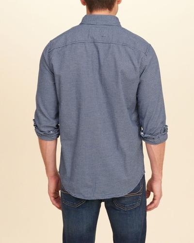 camisa social hollister abercrombie - importado original