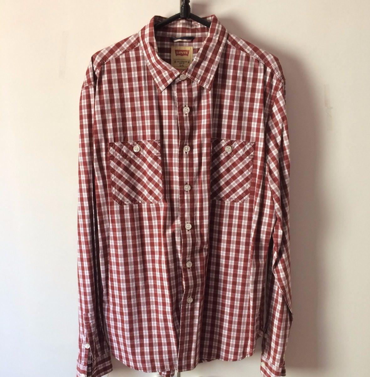 Camisa Social Levi s Original 4afba0e6b8e