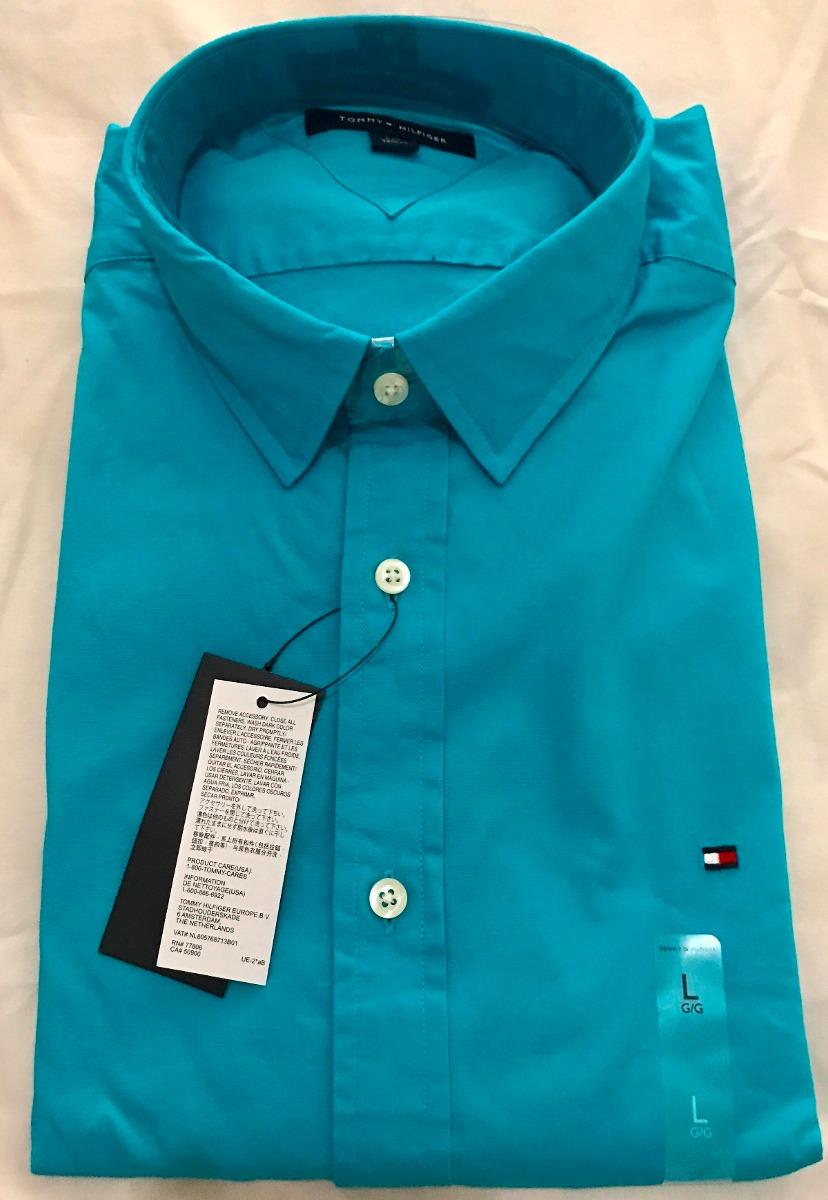 Camisa Social Tommy Hilfiger Tamanho G   L Manga Comprida - R  185 ... 218a4ba1ebe41