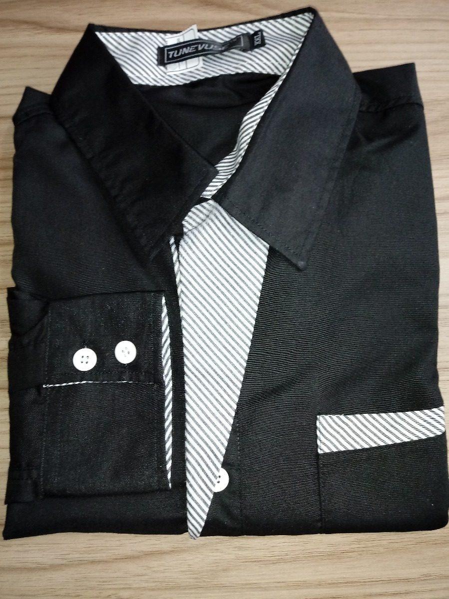 d37a40d58e Camisa Social Masculina Manga Comprida Homem Slim Oferta! - R  39
