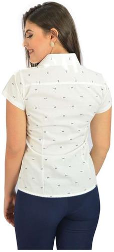 c6c8ebb75c ... branco e lilas - oferta. Carregando zoom... camisa social manga curta