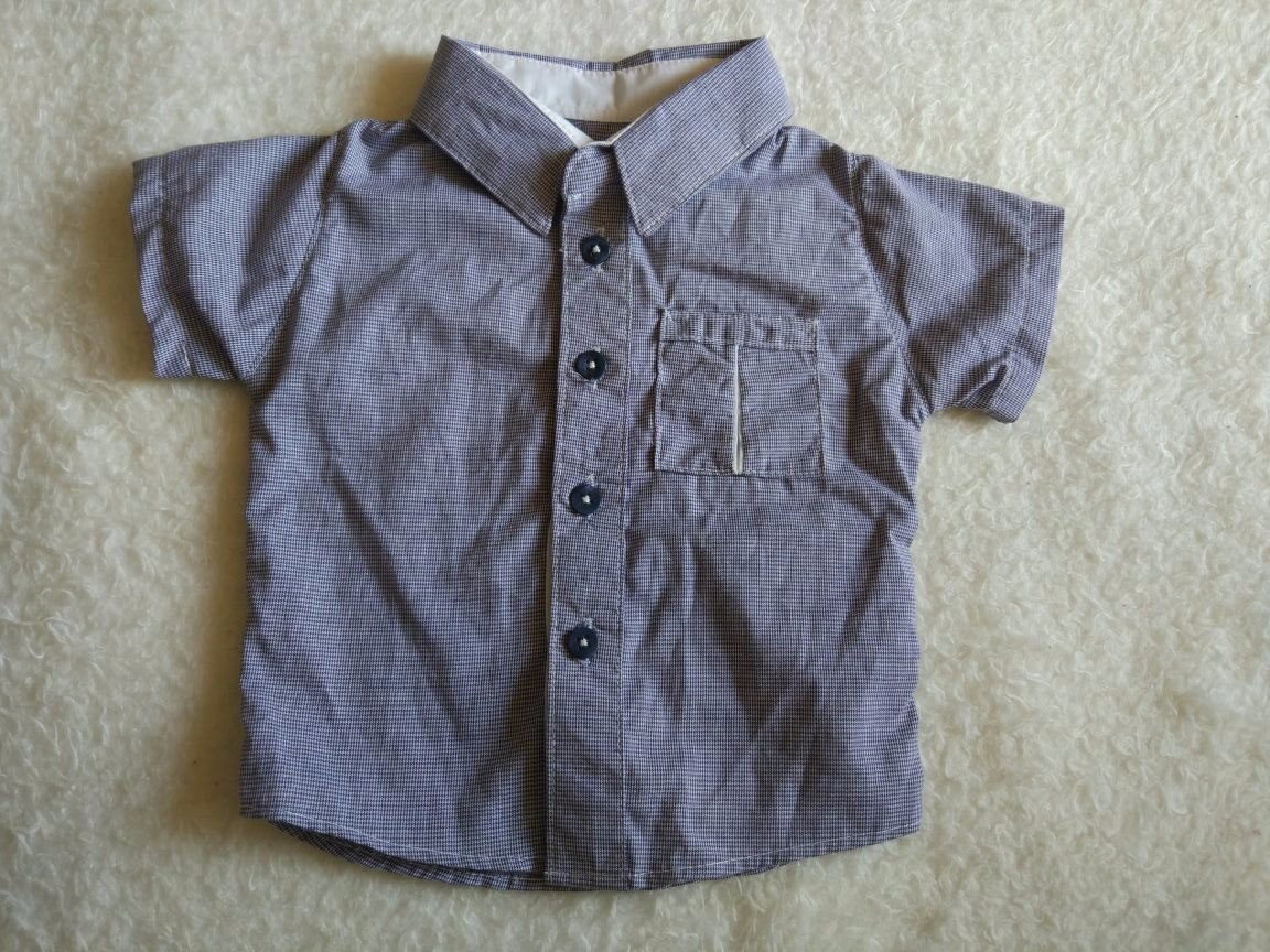 a42663f36c Camisa Social Manga Curta Menino Infantil Bebe - R  29