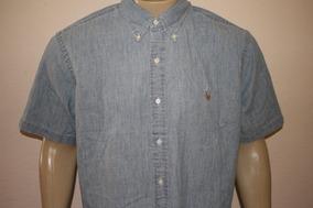 6ca9a2db670d5 Camisas Esquadra Polo Manga Curta Masculino - Camisas Azul aço no ...
