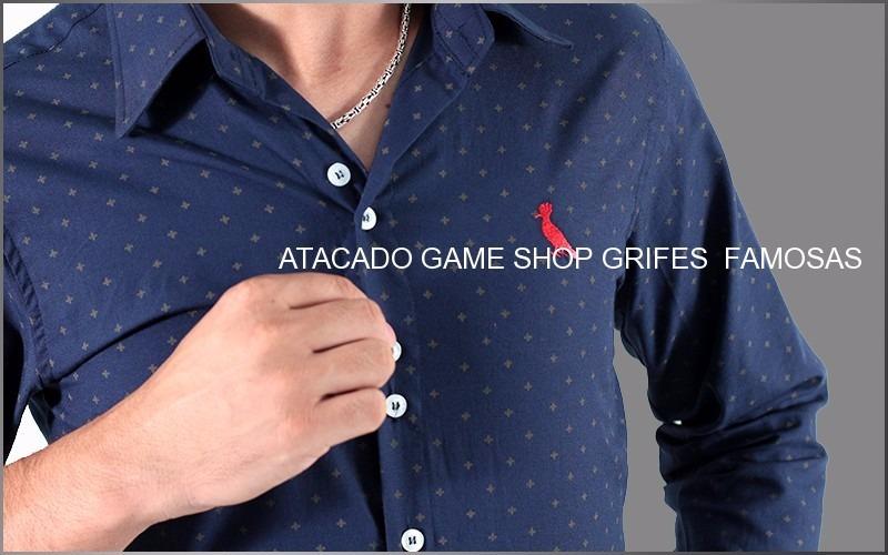 45f45af913 camisa social manga longa slim marcas famosas promoção. Carregando zoom.