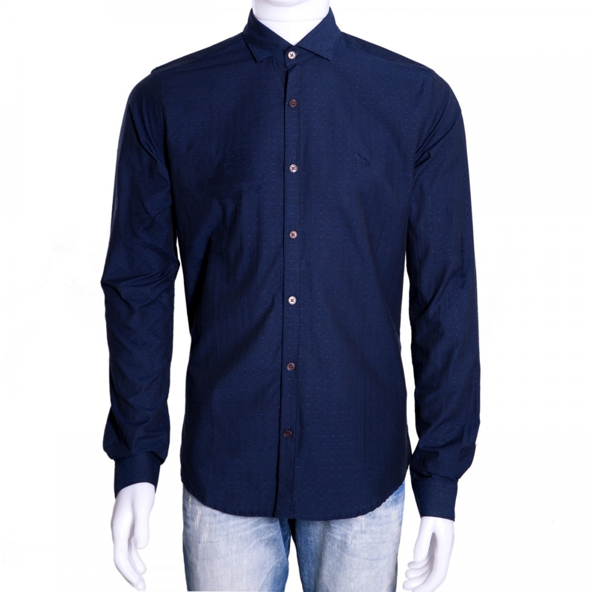 04d036ceb1 camisa social masculina acostamento manga longa 69101088. Carregando zoom.