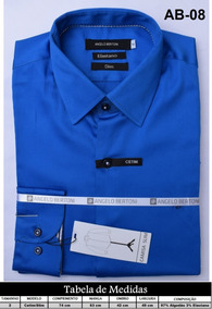 d3c33caad1 Camisa Social Diversas Marcas Famosas - Camisa Formal Longa ...