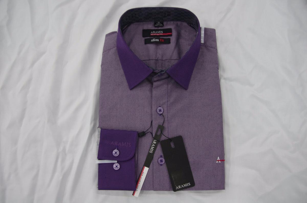 8e204fa6ab0f5 Camisa Social Masculina Aramis