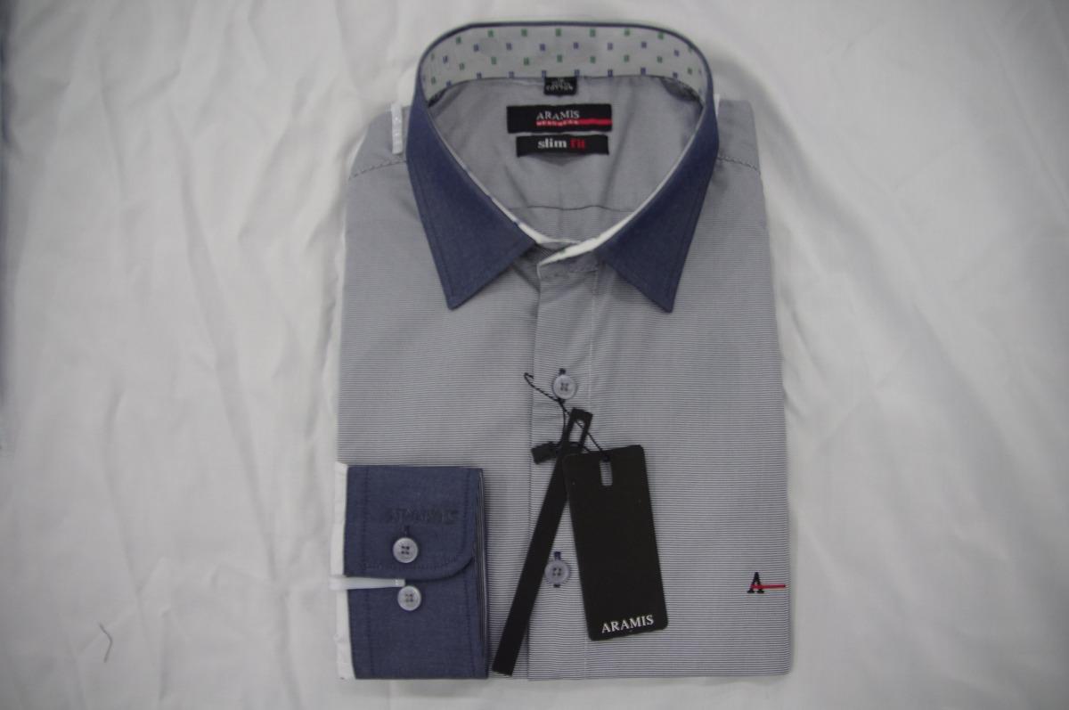 fa1cf2c6e4 Camisa Social Masculina Aramis