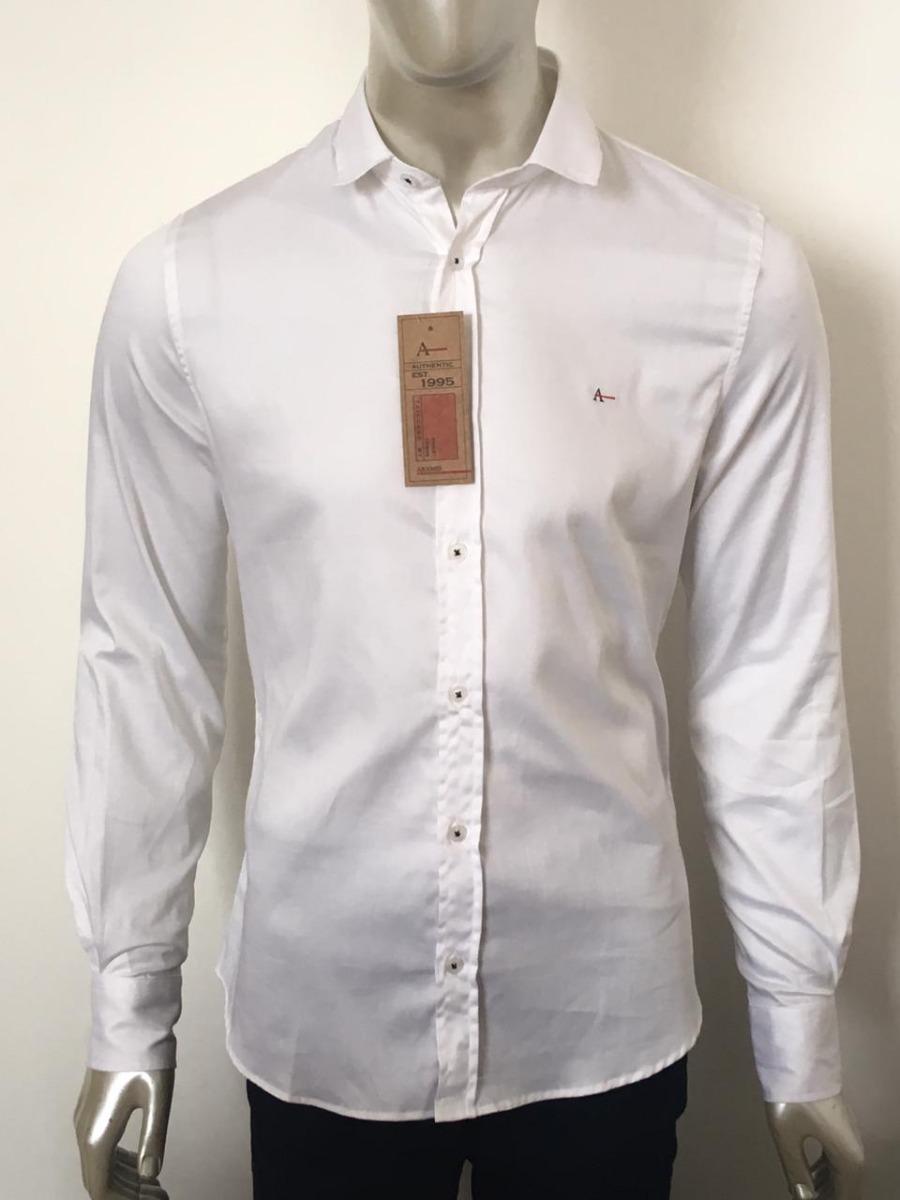 f47c612992 camisa social masculina aramis slin fit manga longa. Carregando zoom.