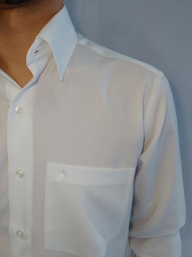 Camisa Social Masculina Fácil De Passar Padrinhos Noivos - R  59 e84f49c0e2b51