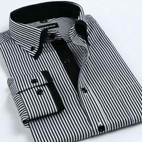 b3e7ea91ed0 Camisa Social Masculina - Listrada - Tamanho Especial