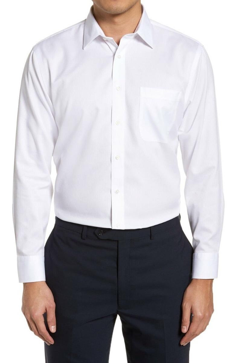 03a0b2cf31 camisa social masculina manga longa branca uniforme. Carregando zoom.
