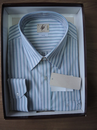 camisa social masculina manga longa hp nacional loja fisica