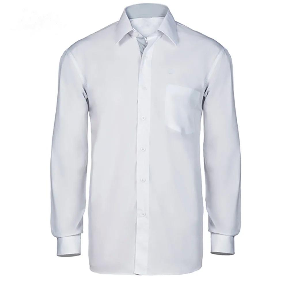 b28542d600 camisa social masculina manga longa uniforme trabalho. Carregando zoom.