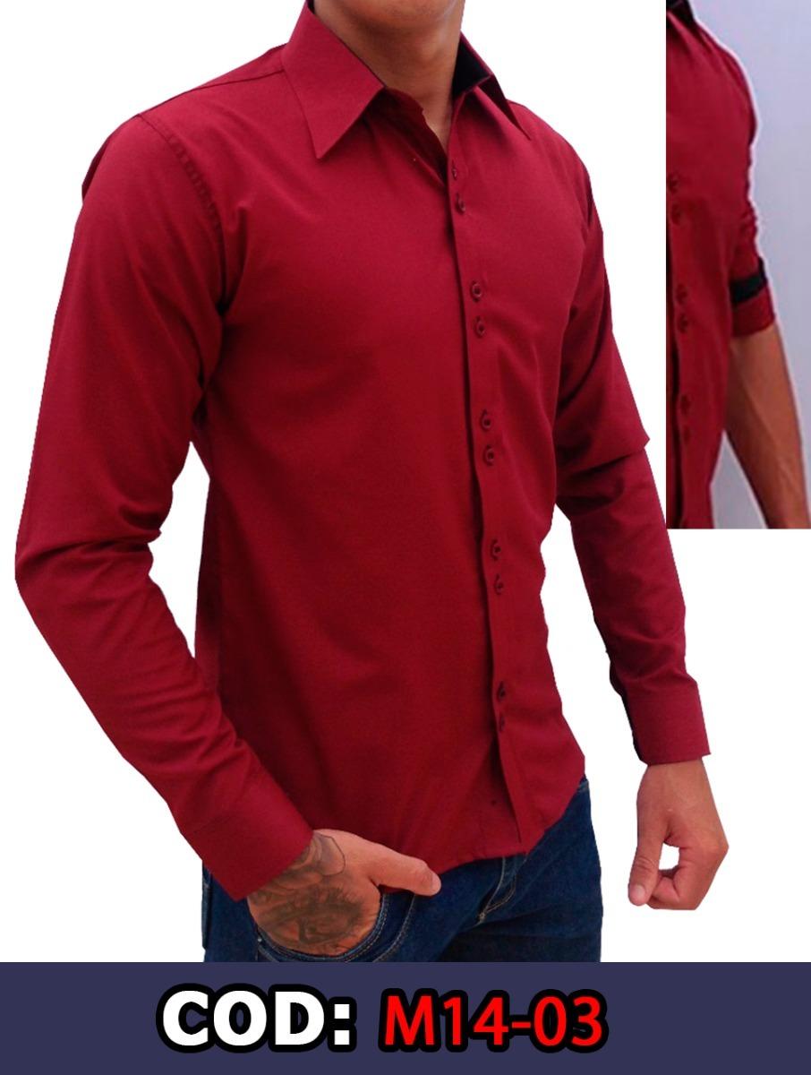 bb930a4cf3 camisa social masculina manga longa vermelha pronta entrega. Carregando  zoom.