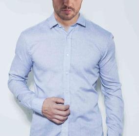 370463d9e0 Camisa Social Masculina Regular Fit Manga Longa 100% Algodão