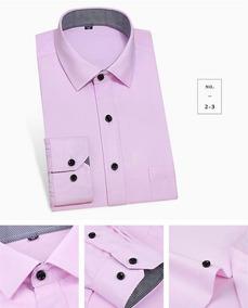 c80c3a92ce6 Camisa Social Masculina - Rosa - Tamanho Especial