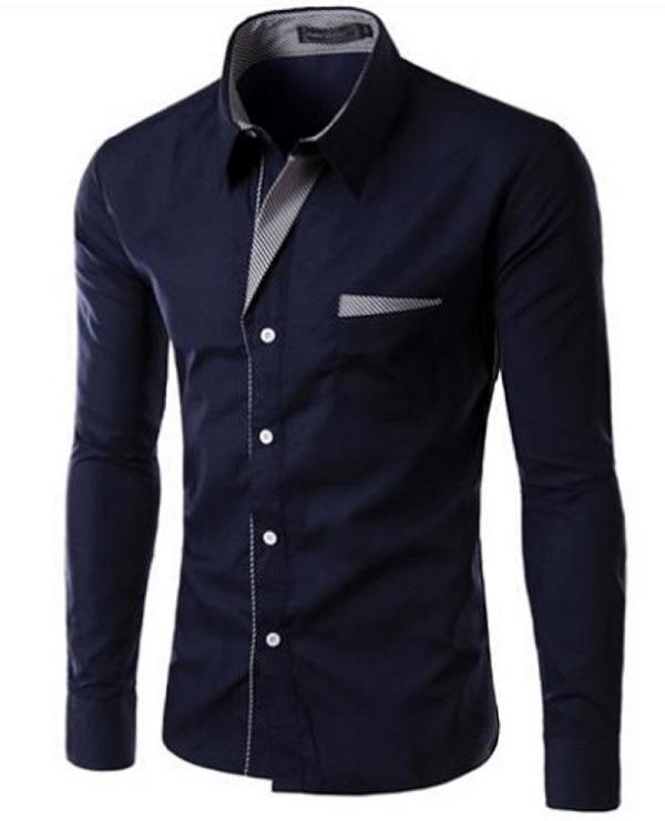 172bbc9c6e Camisa Social Masculina Slim Alta Moda Frete Grátis P/ 2 Un - R$ 79 ...