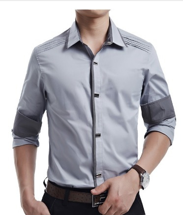 44362f080e Camisa Social Masculina Slim Fit Casual Formatura Casamento - R  500 ...
