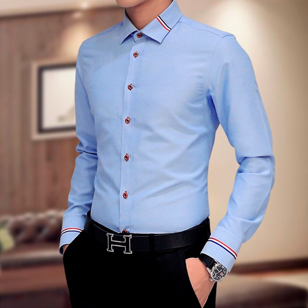 ea9176093c camisa social masculina slim fit luxo importada varias cores. Carregando  zoom.