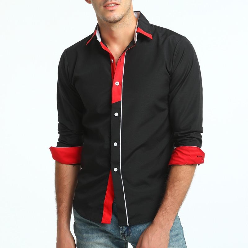 109e2a1701 camisa social masculina slim fit manga longa premium top. Carregando zoom.