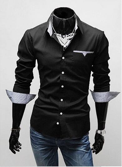 352b350b1 Camisa Social Masculina Slim Fit - Pronta Entrega - R  216