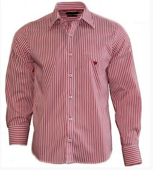 64f57b2925fd5 Camisa Social Masculina Slim Poggio - R$ 40,00 em Mercado Livre