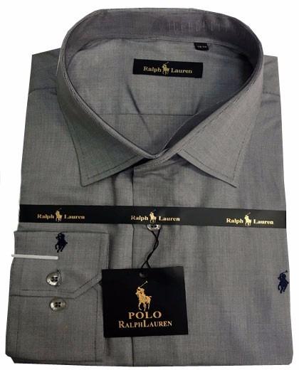 fc4f8538491b1 camisa social masculino rl chumbo · camisa social masculino