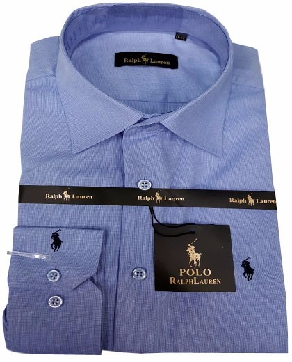 cfe1b13b3bd6f Camisa Social Masculino Rl Chumbo - R  109