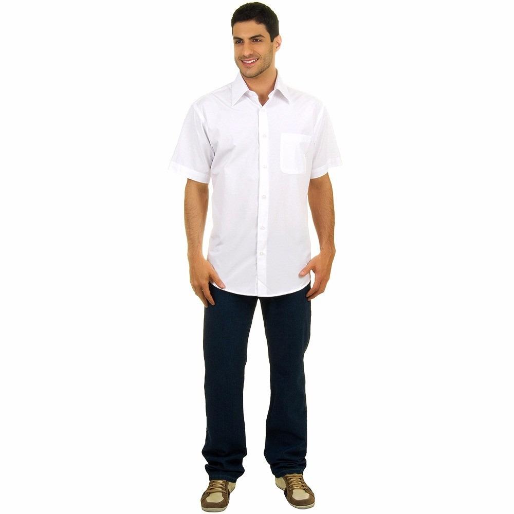 3bb6e1418 Camisa Social M c Uniforme Profissional - R  39