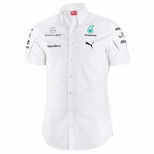 f03500b970 Camisa Social Mercedes Amg Petronas F1 Team Manga Curta - R$ 449,99 em  Mercado Livre
