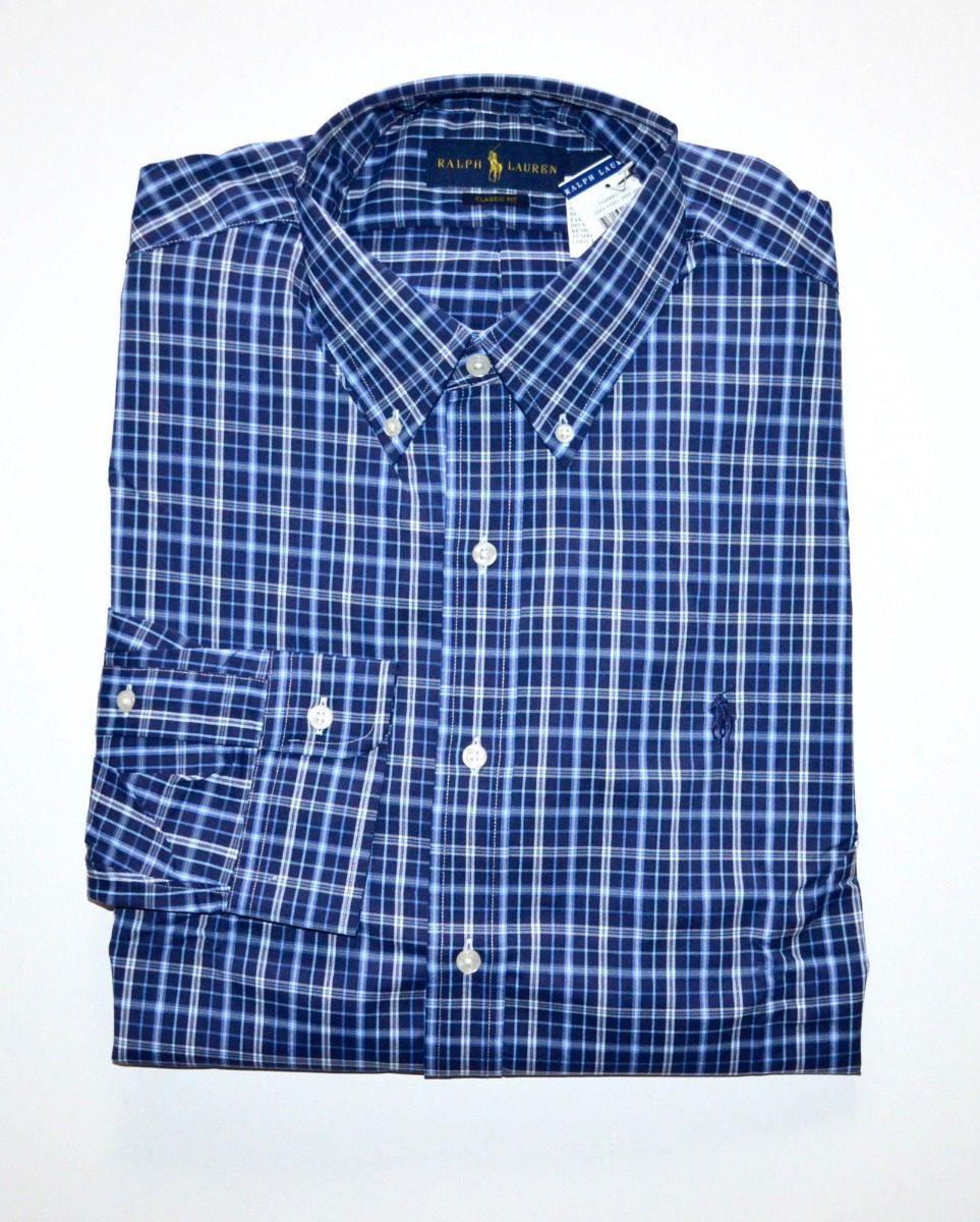 camisa social polo ralph lauren gg xl nova algodão promoção. Carregando  zoom. 0a07727746b