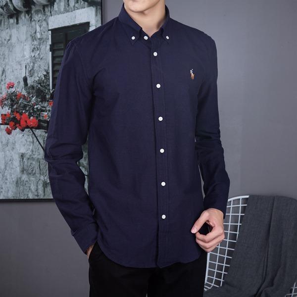 Camisa Social Polo Ralph Lauren Masculina Azul Marinho - R  199 730ceb6d66158