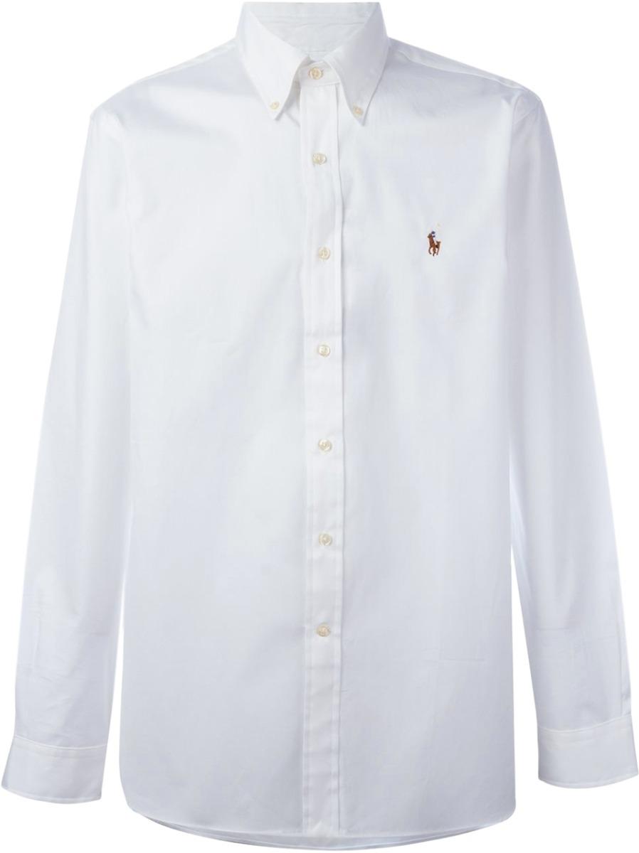1cba6ec754ec6 Camisa Social Polo Ralph Lauren Masculina Branca - R  199,90 em ...