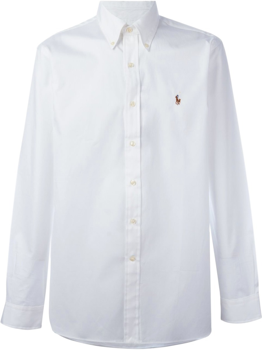 f65b3875c188f camisa social polo ralph lauren masculina oxford branca. Carregando zoom.