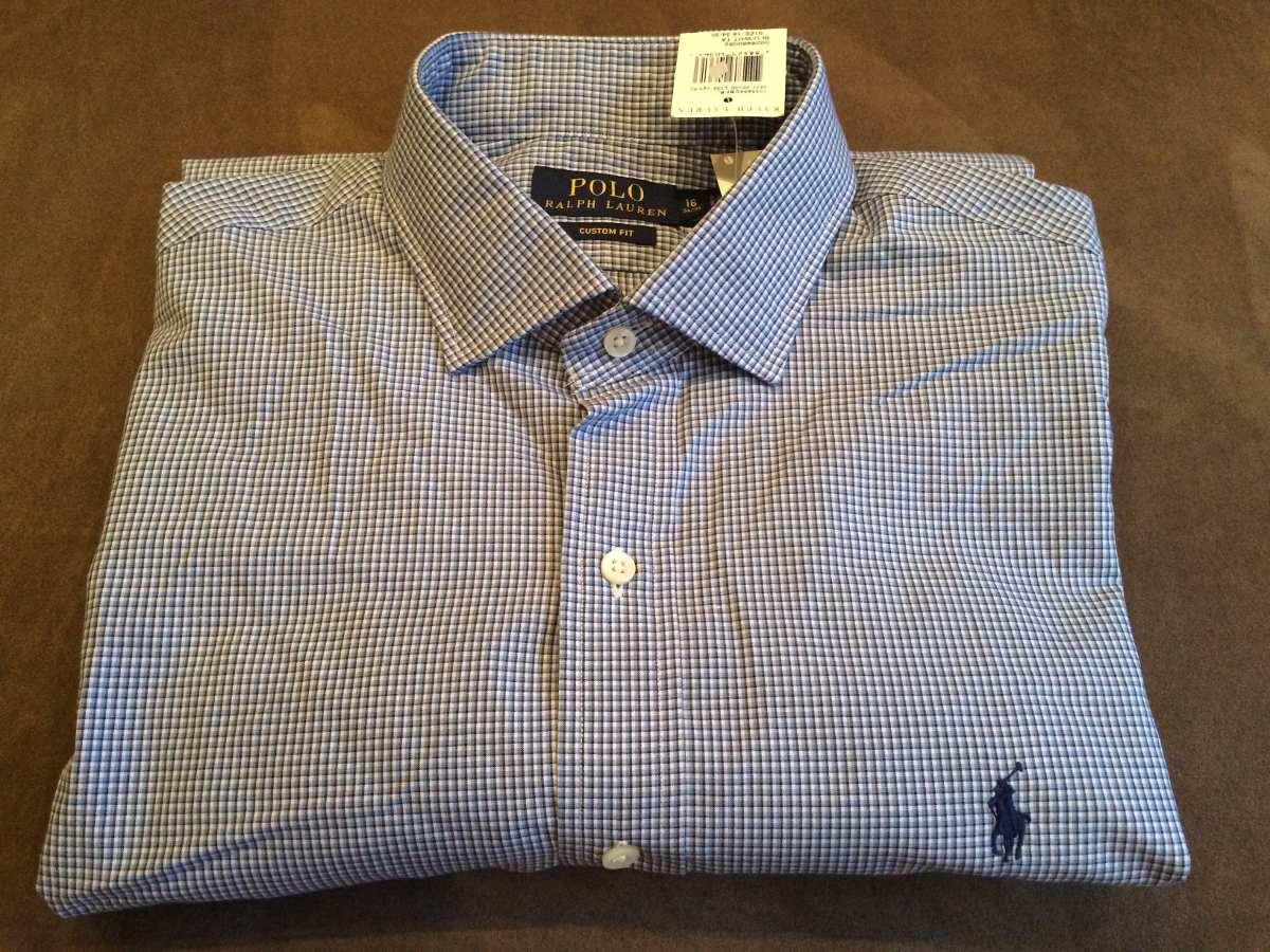 camisa social - polo ralph lauren - masculina - t.  grande. Carregando zoom. 6996466c93b34