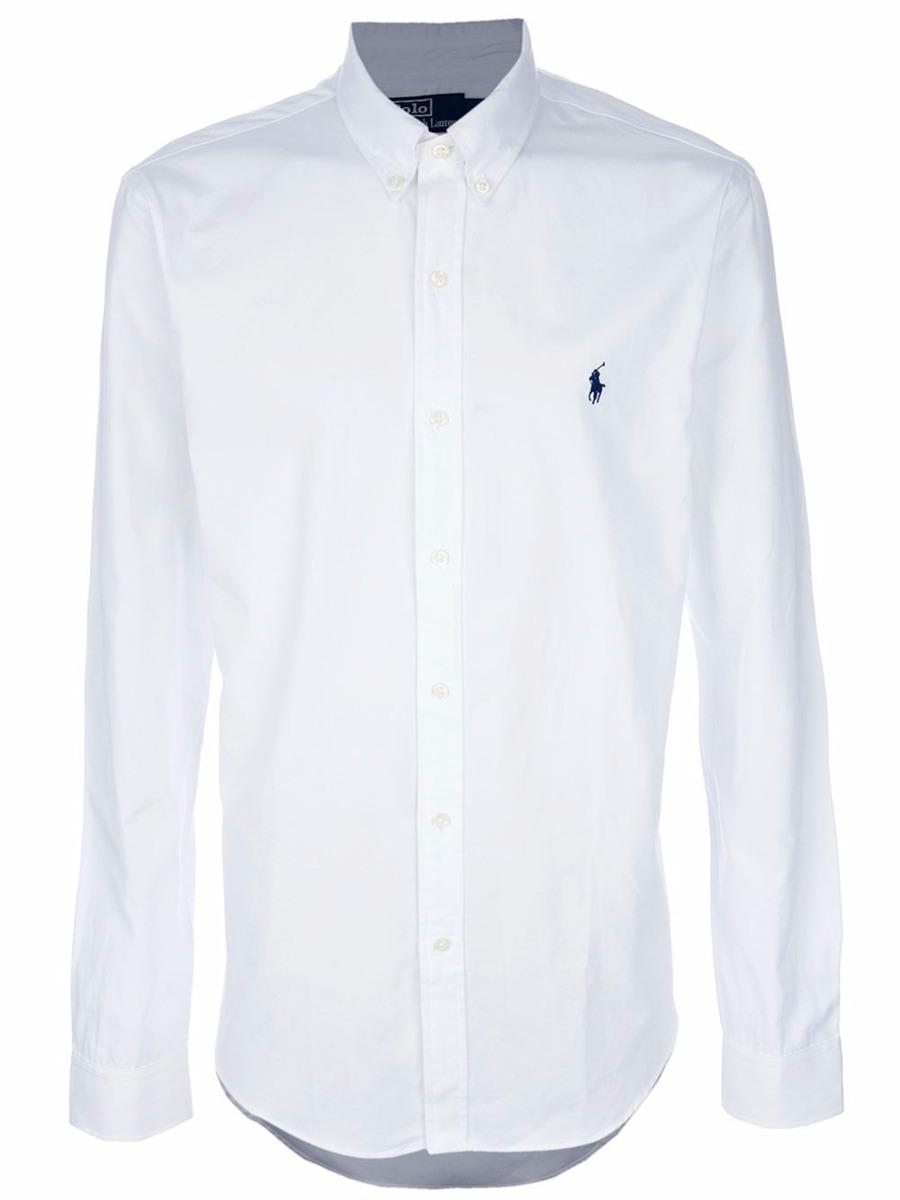 camisa social - polo ralph lauren - masculina - t.  grande. Carregando zoom. 0cbcb9500c554