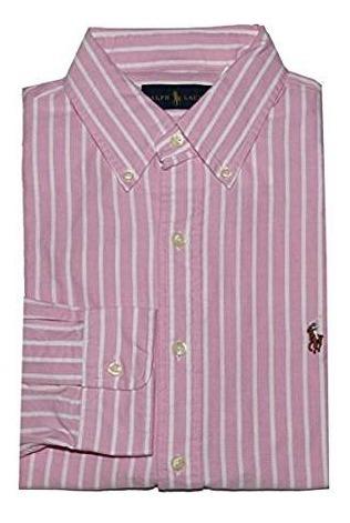 cc2b8e8033 Camisa Social Polo Ralph Lauren Tamanho G / L Classic Fit - R$ 209 ...