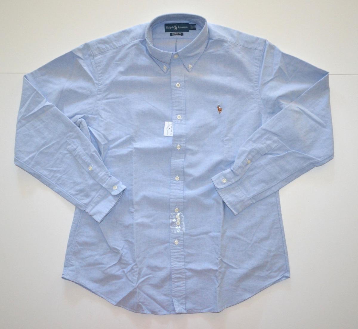 1c55aac3d5646 Camisa Social Polo Ralph Lauren Tamanho Gg Xl Custom Fit - R  199