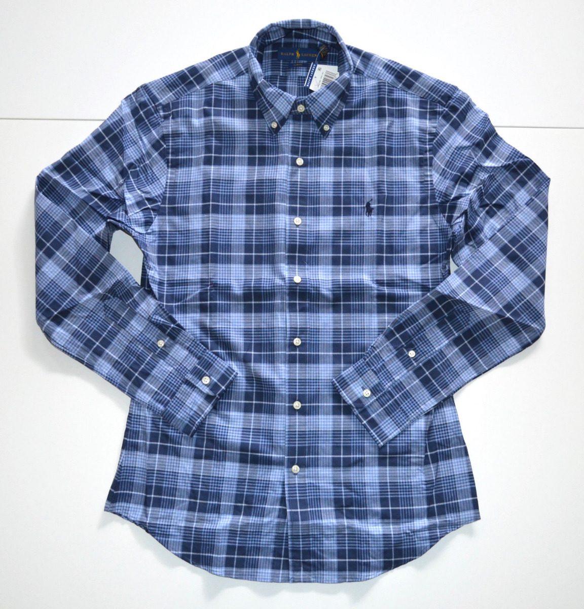 d28fc71f91b7f camisa social polo ralph lauren tamanho ggg   xxl slim fit. Carregando zoom.