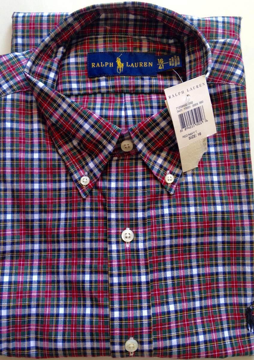 camisa social polo ralph lauren tamanho m original algodão. Carregando zoom. ba6998ed31cee