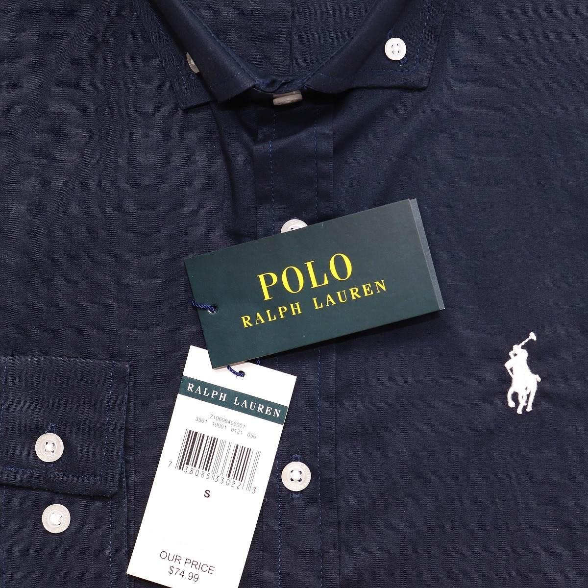 camisa social ralph lauren cs fit azul pony branco original. Carregando zoom . b98a7fb7c6b