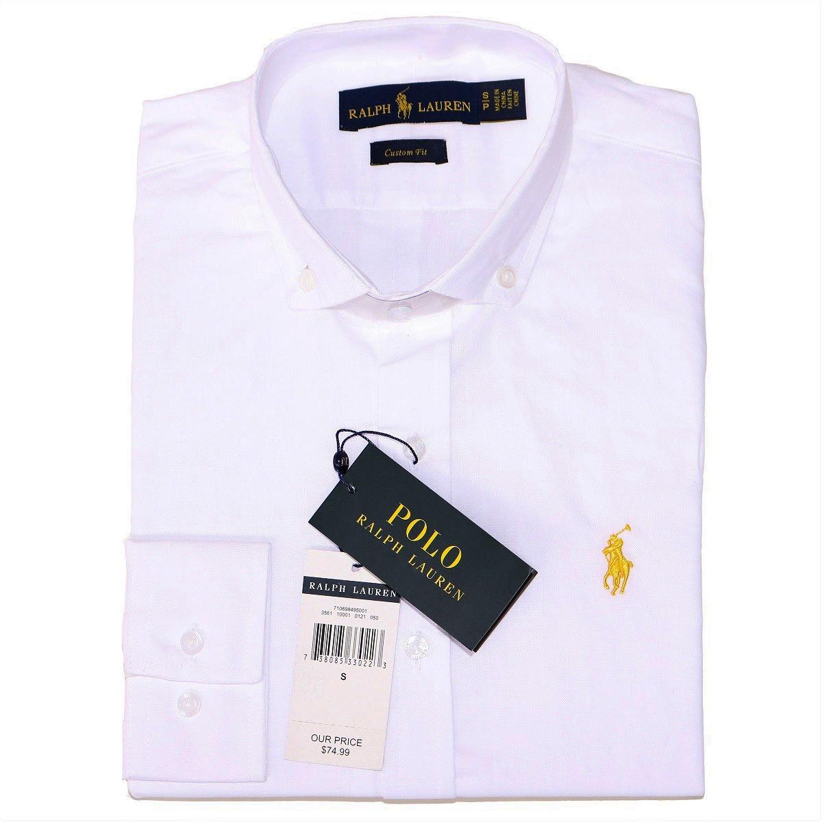 65792bac1b Camisa Social Ralph Lauren Masc Custom Fit Branco Original - R$ 159 ...