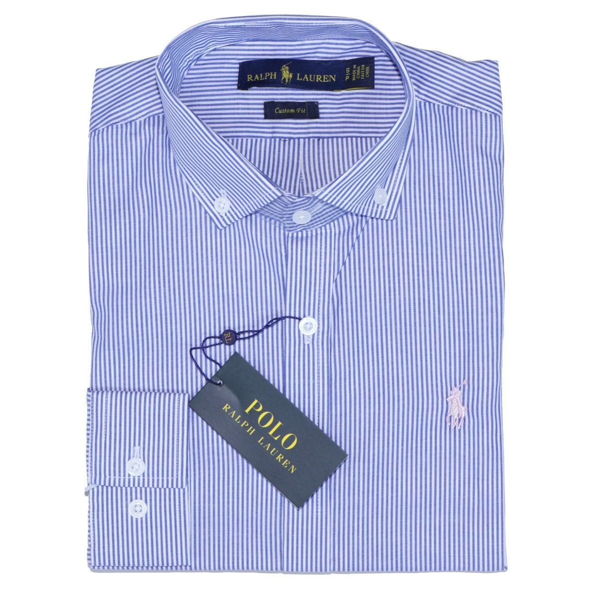 camisa social ralph lauren masc listrada c fit azul original. Carregando  zoom. 650b22bef9b