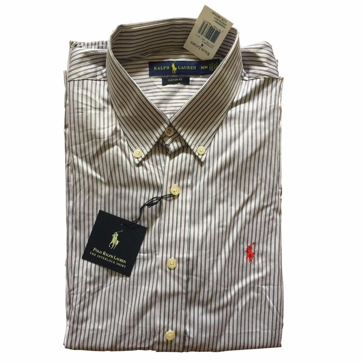 camisa social ralph lauren masculina original - tam  m - p1. Carregando zoom . 4a28756d6bf