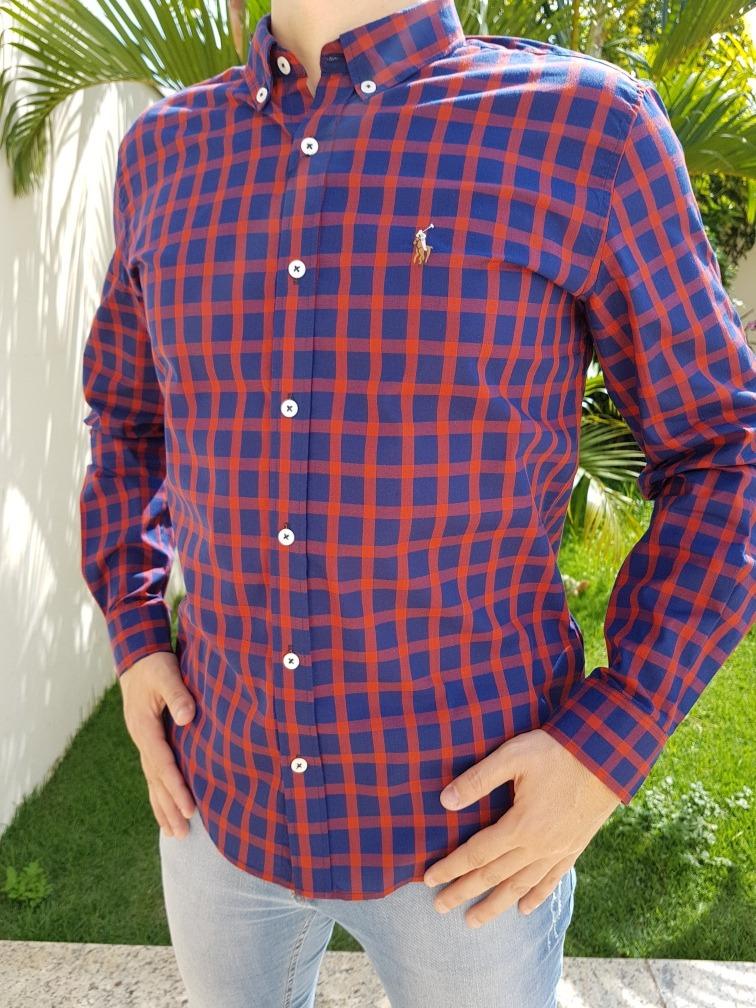 Camisa Social Ralph Lauren 2a74706c4a9c6
